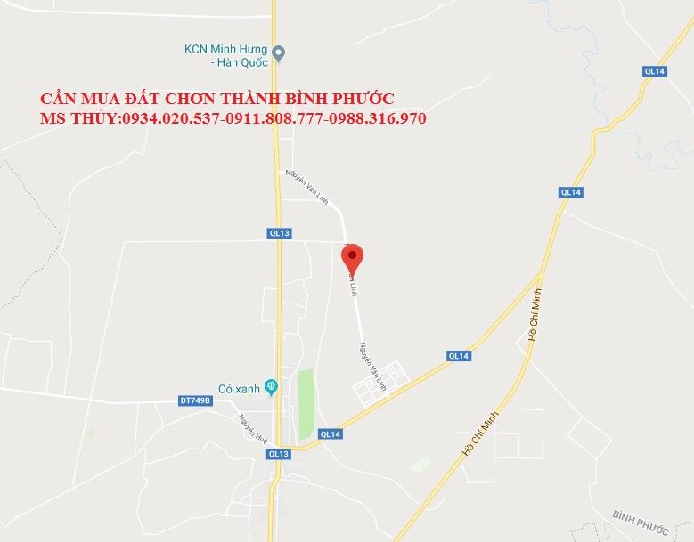Cần mua đất mặt tiền đường Nguyễn Văn Linh