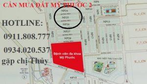 Cần mua lô NP24,NP25,NP26 đất nền mỹ phước 2 giá cao nhất thị trường