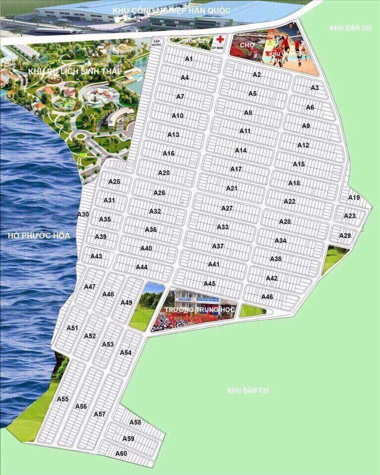 bản đồ quy hoạch khu tái định cư nha bích ấp 6 xã nha bích huyện chơn thành tỉnh bình phước